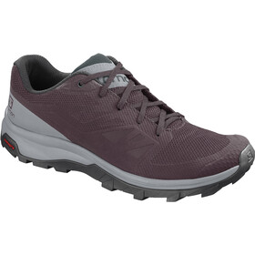 Salomon Outline Scarpe Donna, winetasting/quarry/green gables